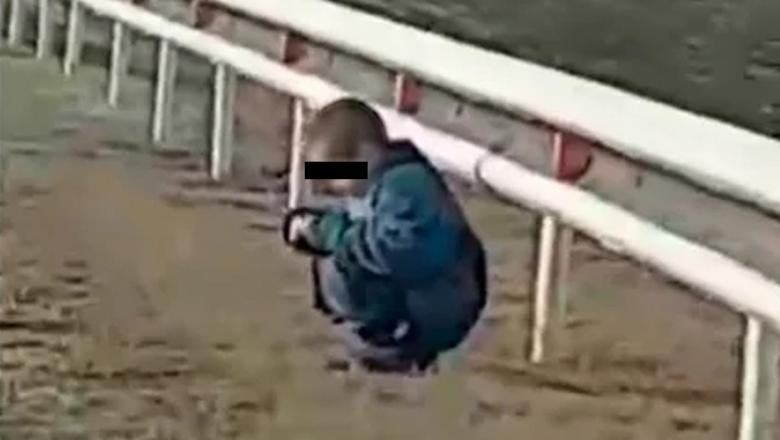 Сотрудники ГИБДД нашли ребенка на обочине дороги в Карелии